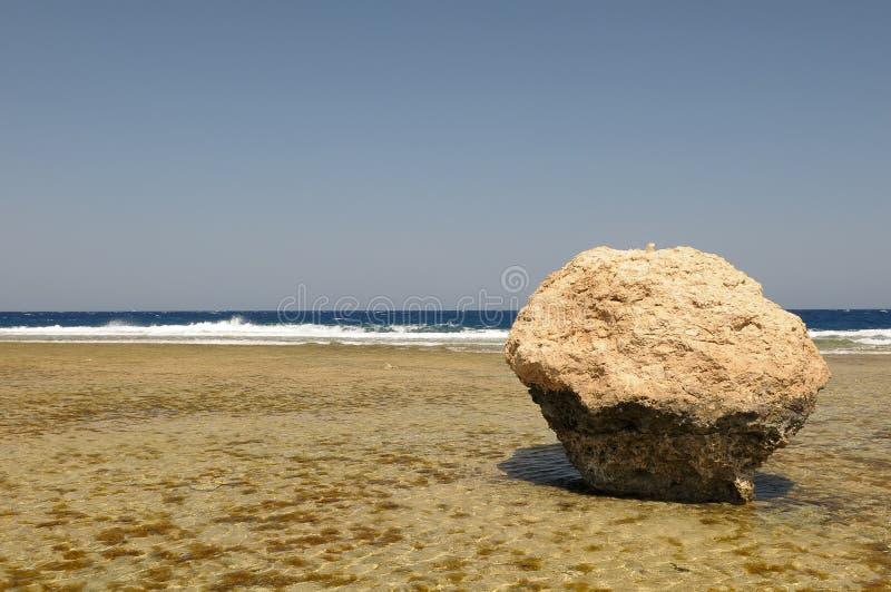 océan de rocher de plage images libres de droits