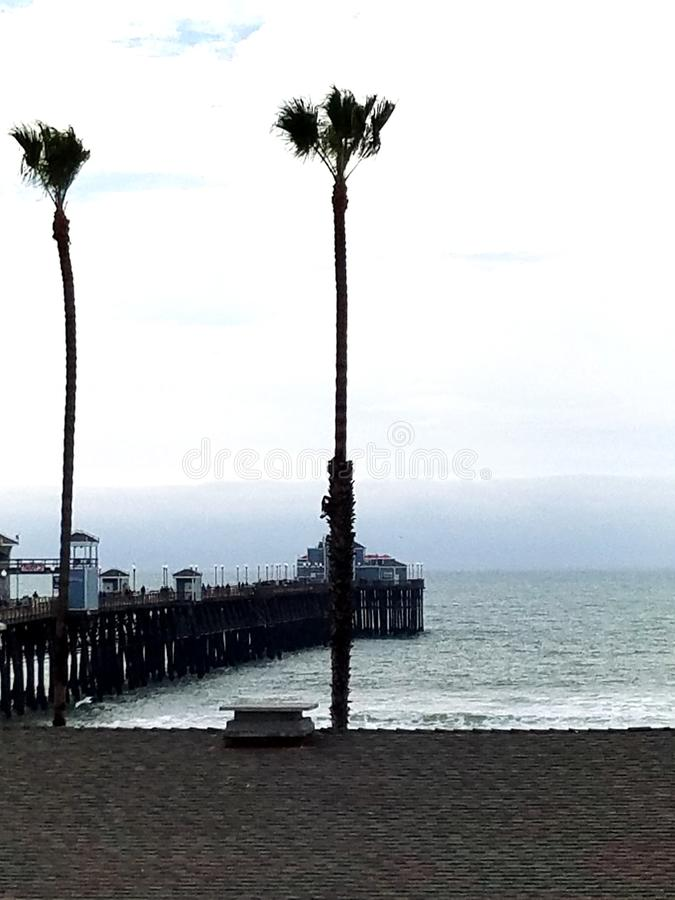 Océan de San Diego images libres de droits