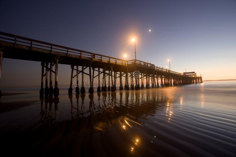 océan Pacifique de newport de plage photos stock
