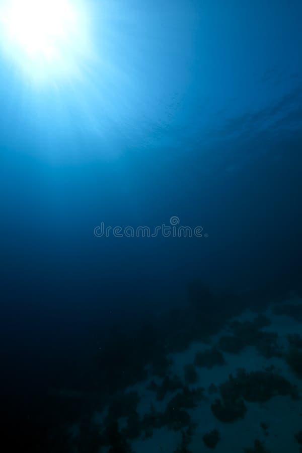 Océano ancho azul foto de archivo libre de regalías