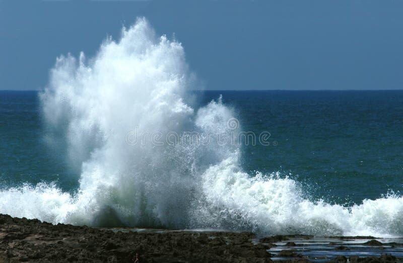 Océano Atlántico foto de archivo libre de regalías