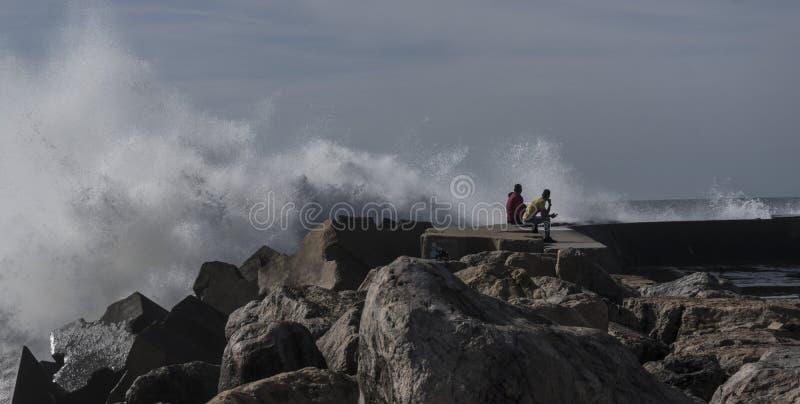 Océano Atlántico del norte, ondas fotos de archivo libres de regalías