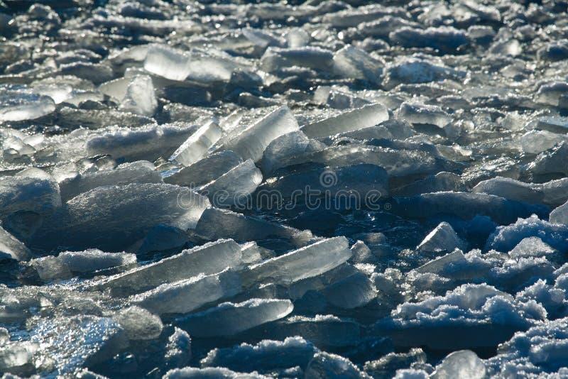 Océano congelado fotos de archivo