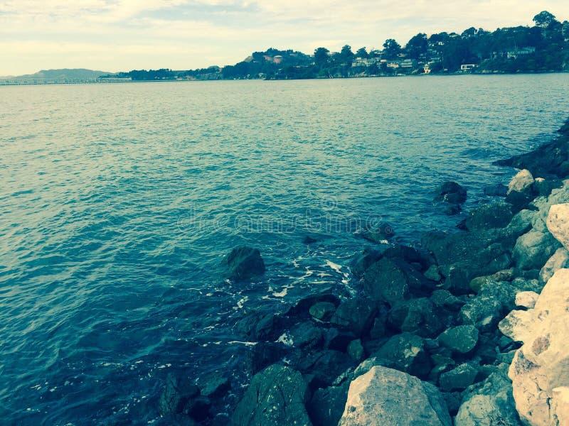 Océano de California imagenes de archivo