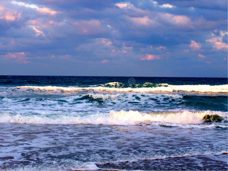 Océano de la playa de Jensen fotos de archivo