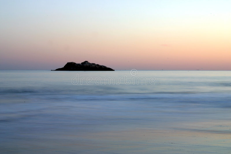 Océano De La Tranquilidad Foto de archivo