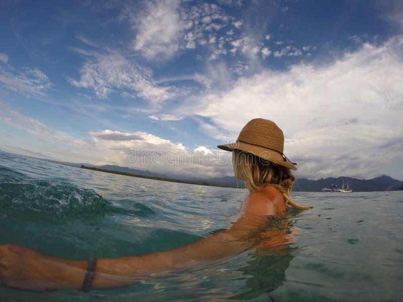 Océano de la vida de Bali fotografía de archivo libre de regalías