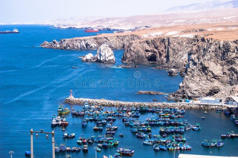 Océano de Puerto de Arequipa Perú imágenes de archivo libres de regalías