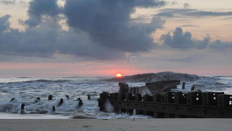 Océano del NC Outer Banks fotos de archivo libres de regalías