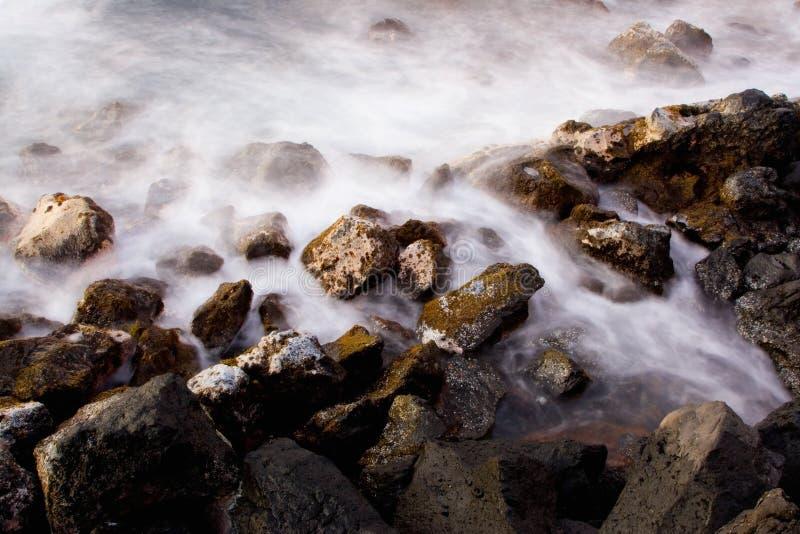 Océano En La Salida Del Sol, Abstracta Imagen de archivo libre de regalías