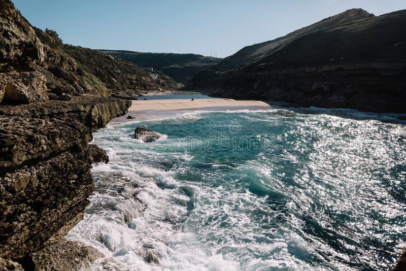 Océano en Portugal fotografía de archivo libre de regalías