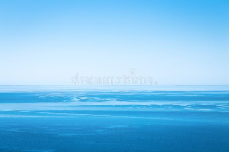 Océano imposible azul Planeta azul imagen de archivo libre de regalías
