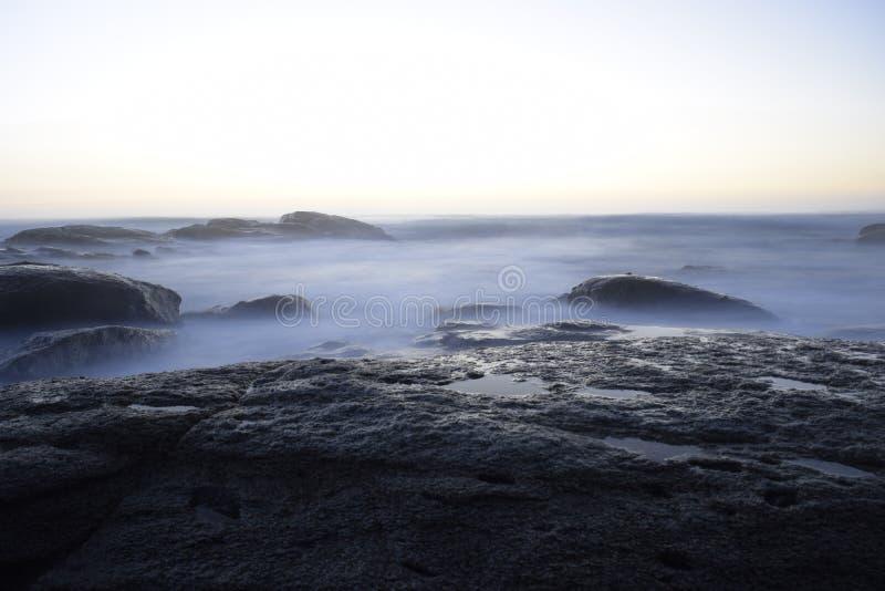 Océano Pacífico, Chile foto de archivo