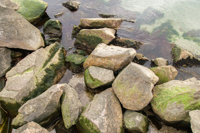 Océano verde fresco imagen de archivo
