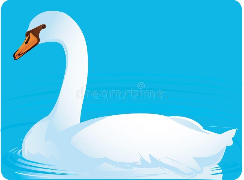 Oca bianca royalty illustrazione gratis