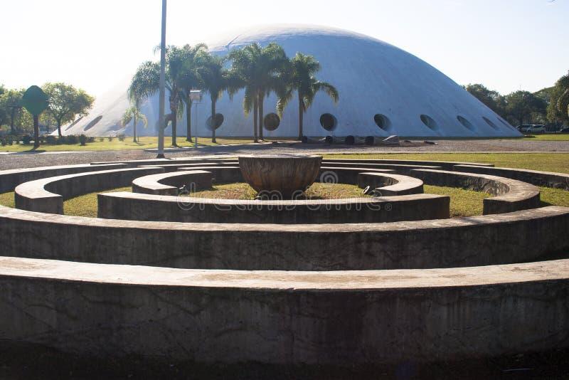 Oca i Ibirapuera parkerar arkivbilder