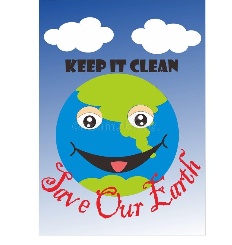 ocalić nasze ziemi zdjęcie royalty free