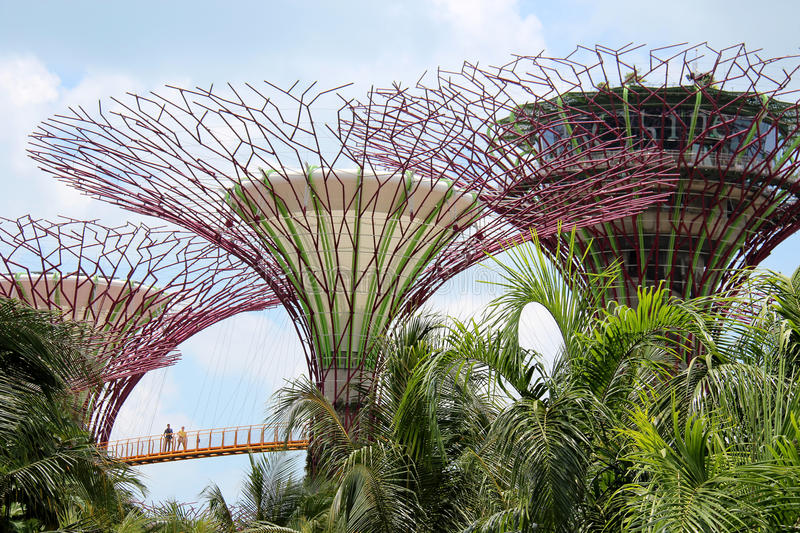 OCBC Skyway - Singapour images stock