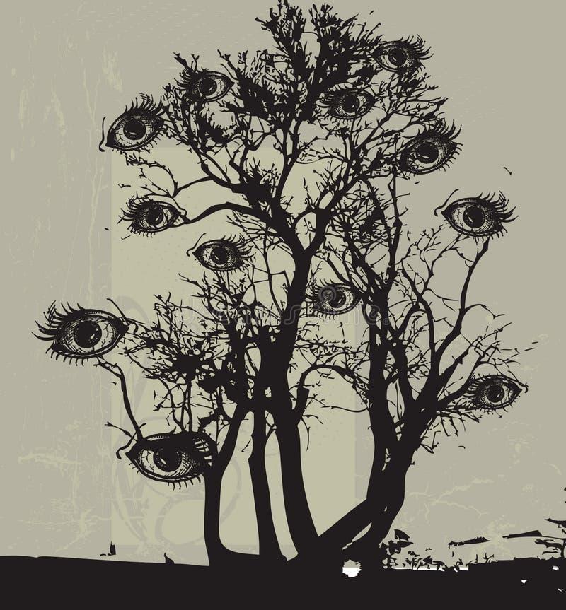 Occhi illustrazione vettoriale