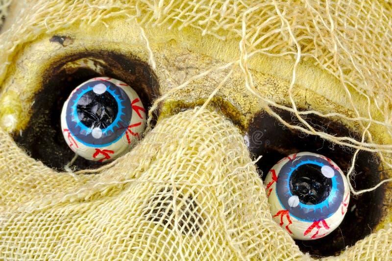 Occhi delle mummie fotografia stock
