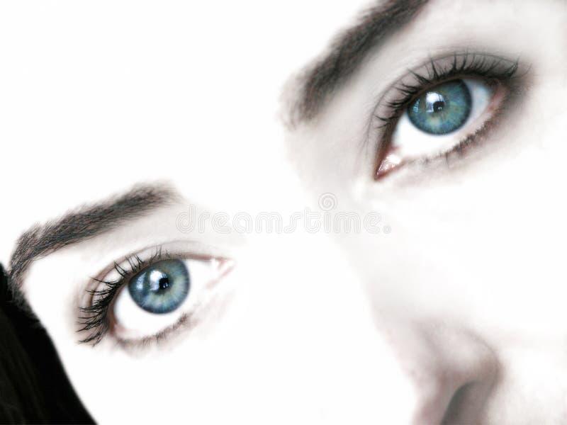 Occhi di sogno immagini stock libere da diritti