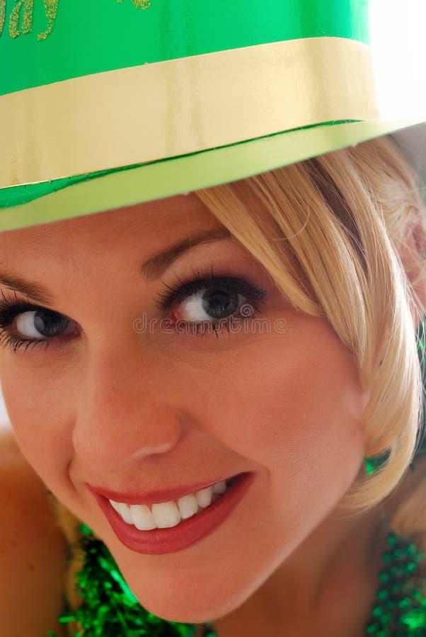 Occhi irlandesi! fotografie stock