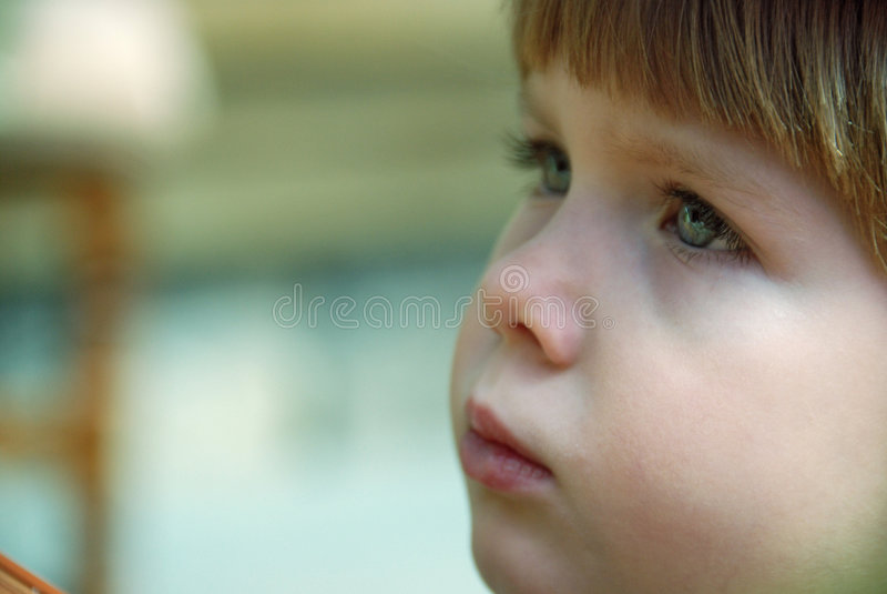 Occhi tristi fotografie stock