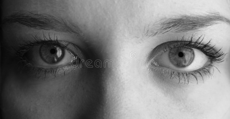 Occhi umani fotografia stock libera da diritti