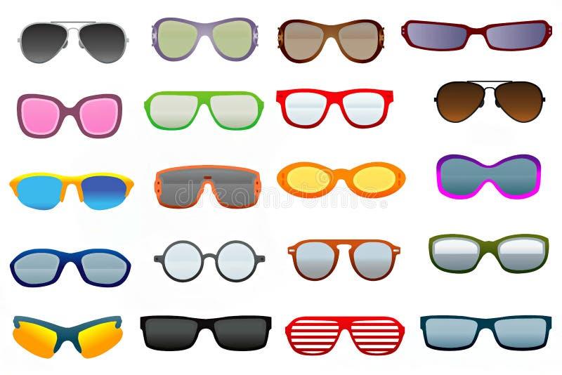 Occhiali illustrazione vettoriale
