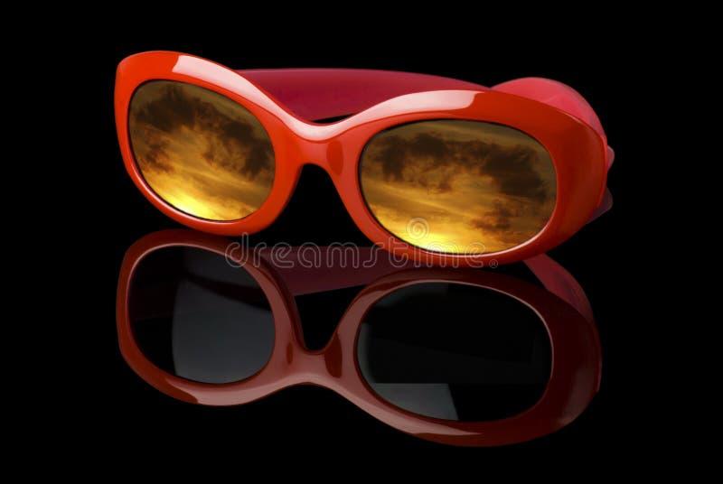 Occhiali da sole futuristici fotografia stock libera da diritti