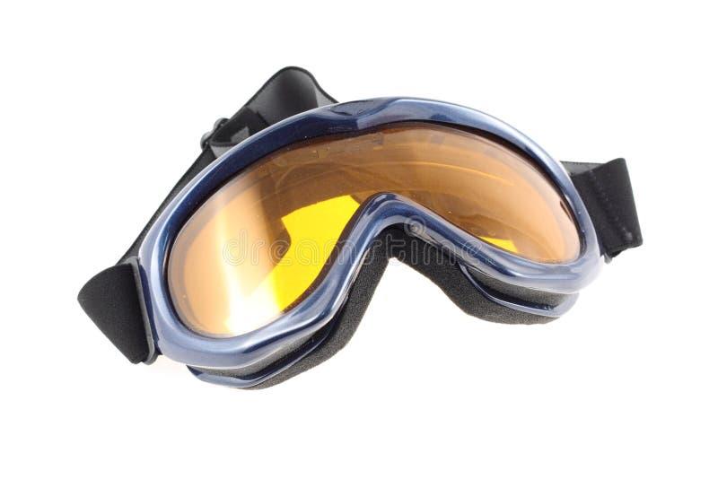 Occhiali di protezione del pattino fotografia stock