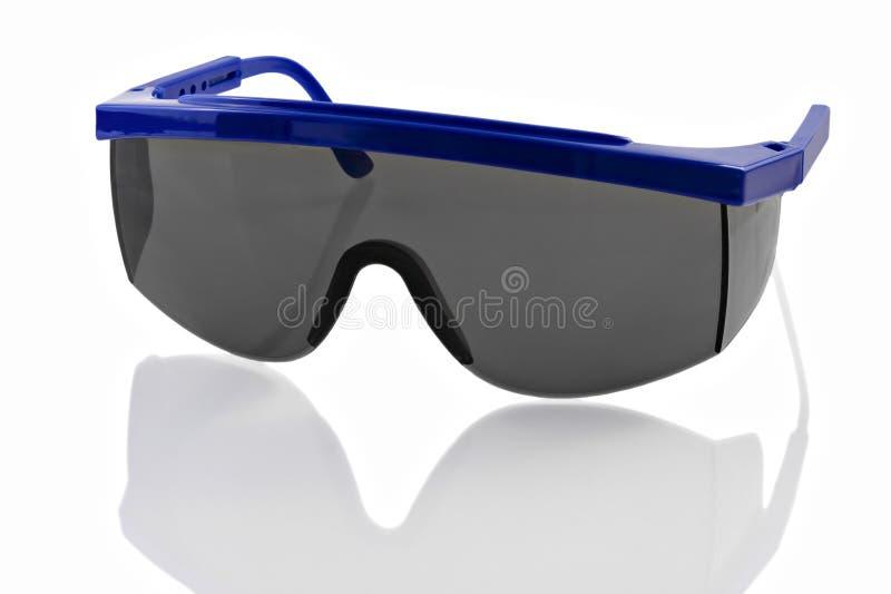 Occhiali di protezione di plastica immagine stock