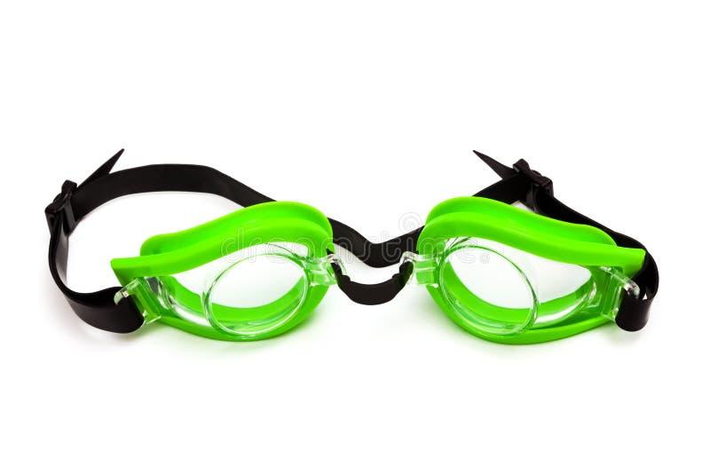 Occhiali di protezione per nuoto immagine stock libera da diritti