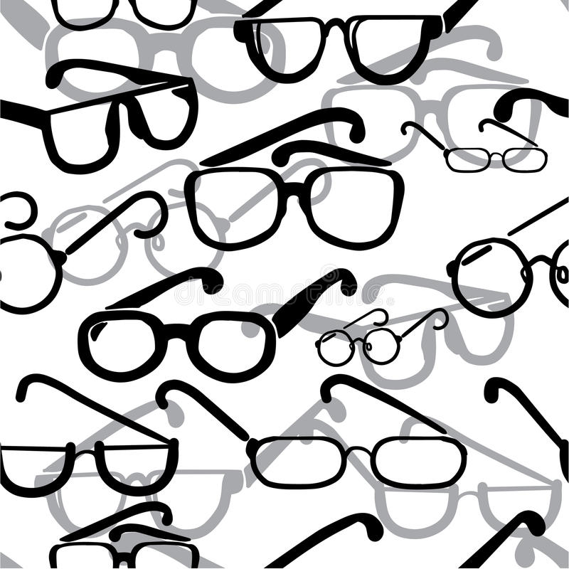 Occhiali senza cuciture royalty illustrazione gratis