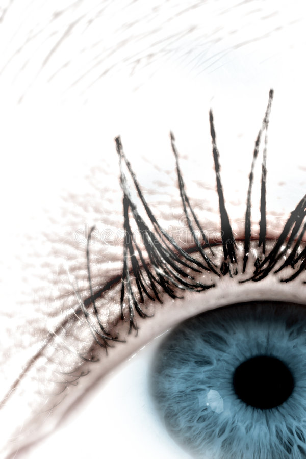 Occhio #4 immagini stock libere da diritti