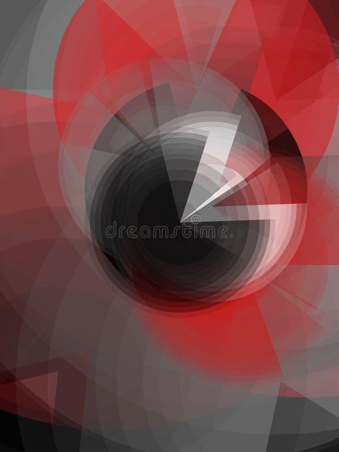 Occhio astratto fotografie stock libere da diritti