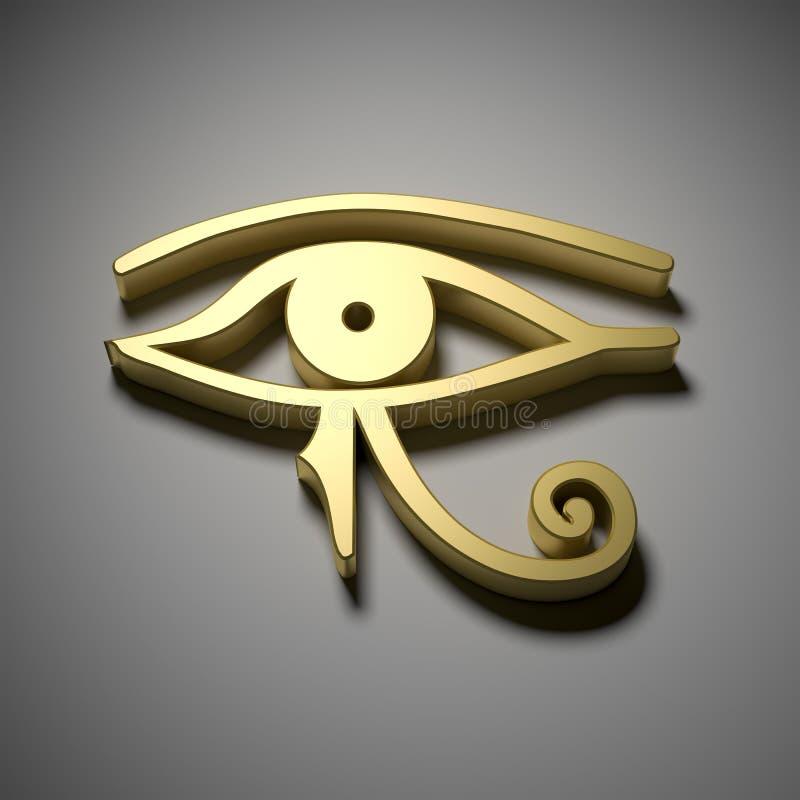 Occhio dell'Egitto royalty illustrazione gratis
