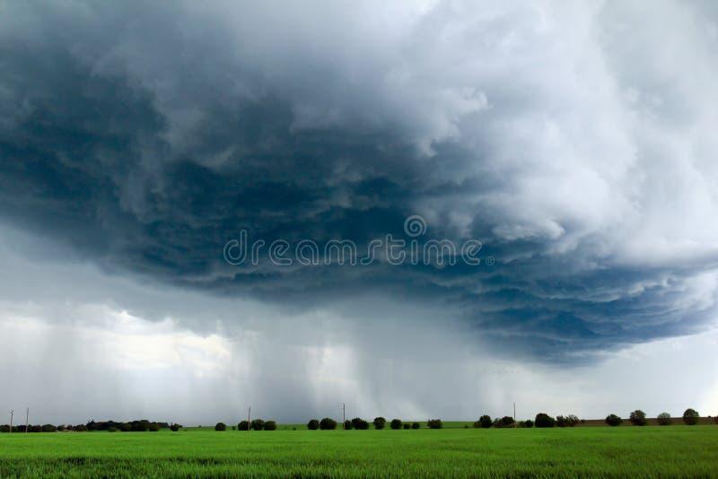 Occhio della tempesta fotografia stock