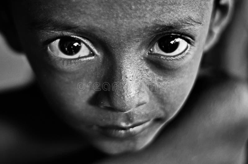 Occhio di Childs fotografie stock