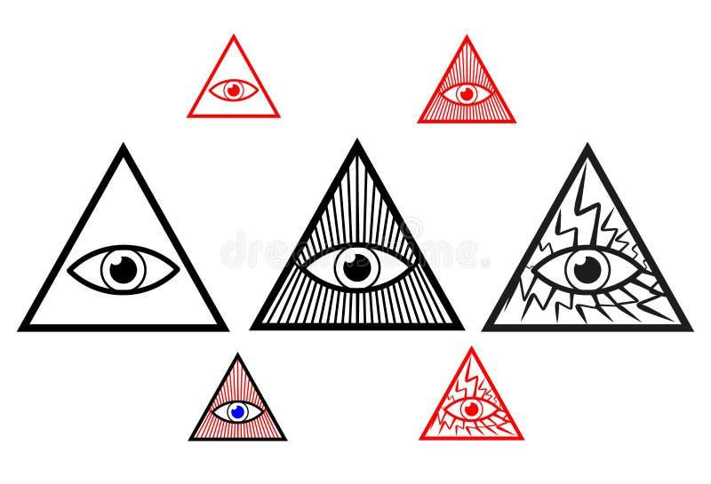 Occhio di Dio royalty illustrazione gratis