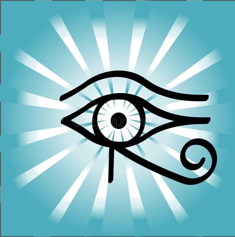 Occhio di Horus royalty illustrazione gratis