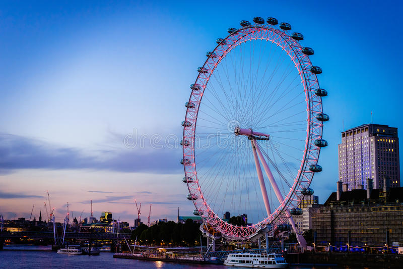 Occhio di Londra fotografia stock
