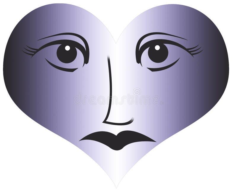 Download Occhio E Priorità Bassa Di Amore Illustrazione di Stock - Illustrazione di occhio, sorriso: 7305504