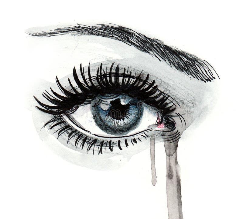 Occhio e rotture royalty illustrazione gratis