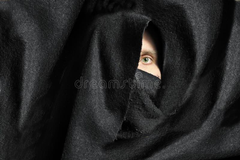 Occhio maschio fotografia stock
