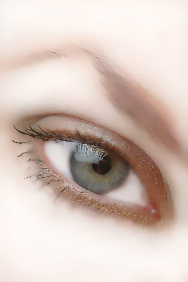 Occhio, primo piano fotografie stock