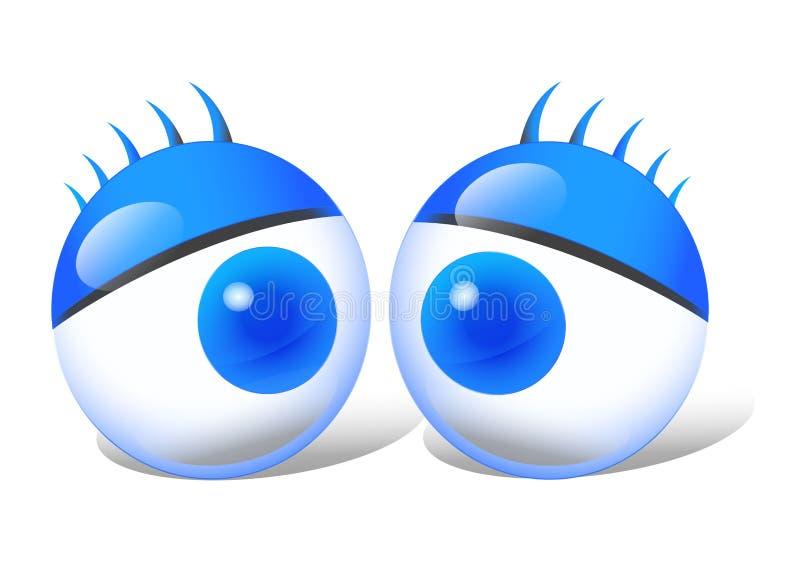 Occhio simbolico fotografia stock libera da diritti