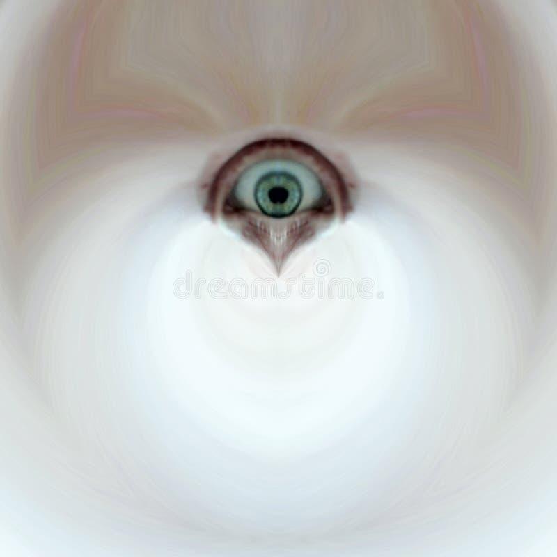 Occhio terrificante immagini stock libere da diritti