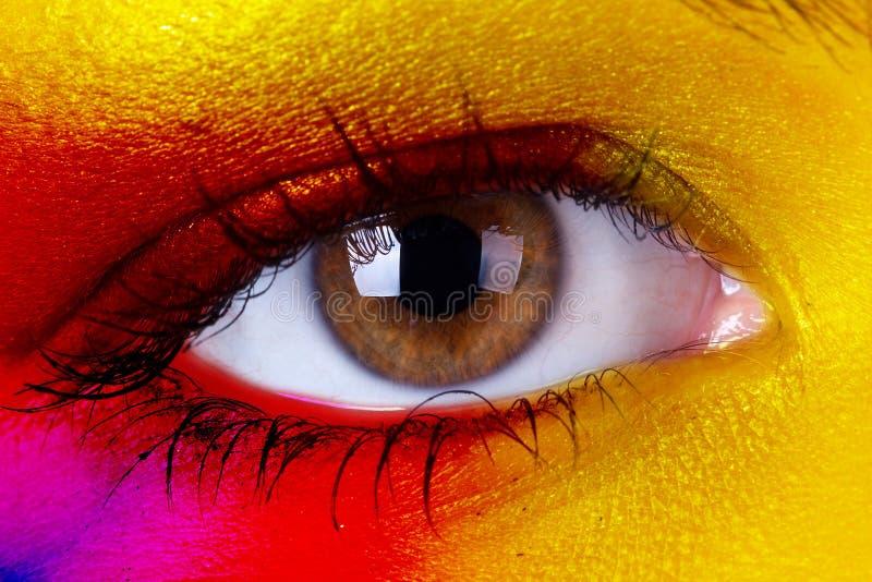 Occhio umano immagine stock libera da diritti