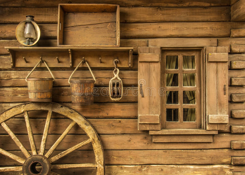 Occidental rural image stock